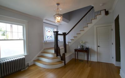 Stained Glass adds practical charm & value to rehabs!