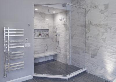 Bathroom Shower - View 1