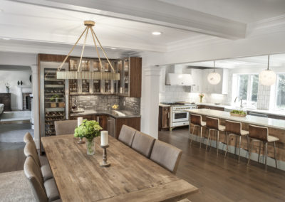 Open Layout Dining Room-Kitchen
