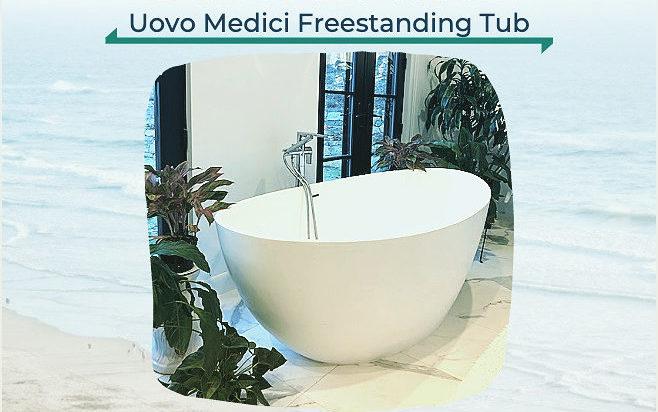 Uovo Freestanding Soaking Tub