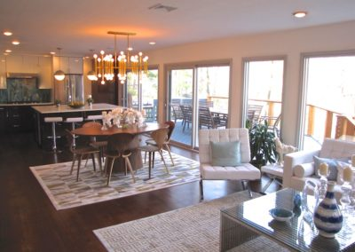 Dining Area - View from Family Room