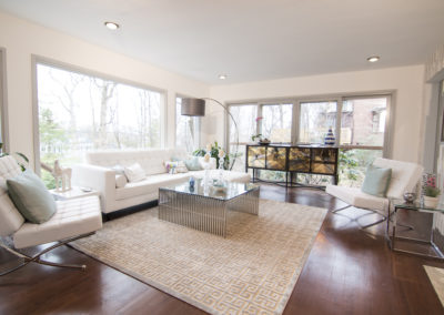 Family Room - View with Windows