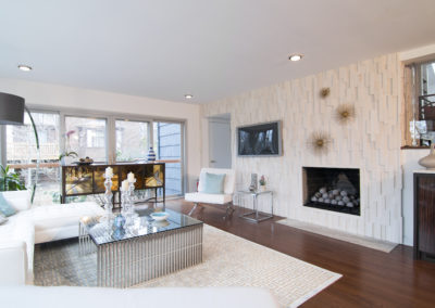 Family Room - View with Fireplace
