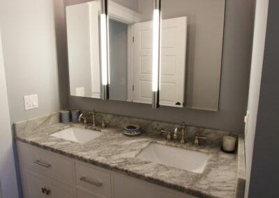 Bathroom - Marble Countertops